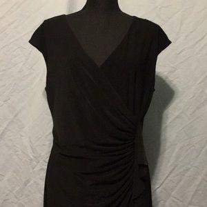Black Label by Evan Picone Black Dress